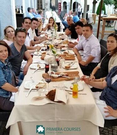 Erasmus+ Training For Teachers by Primera Dinner with Participants